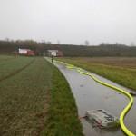 Wasserversorgung vom HLF Uthweiler