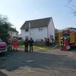 Werkstattbrand in Ruttscheid
