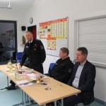 Ansprache des Leiters der Feuerwehr Michael Bungarz